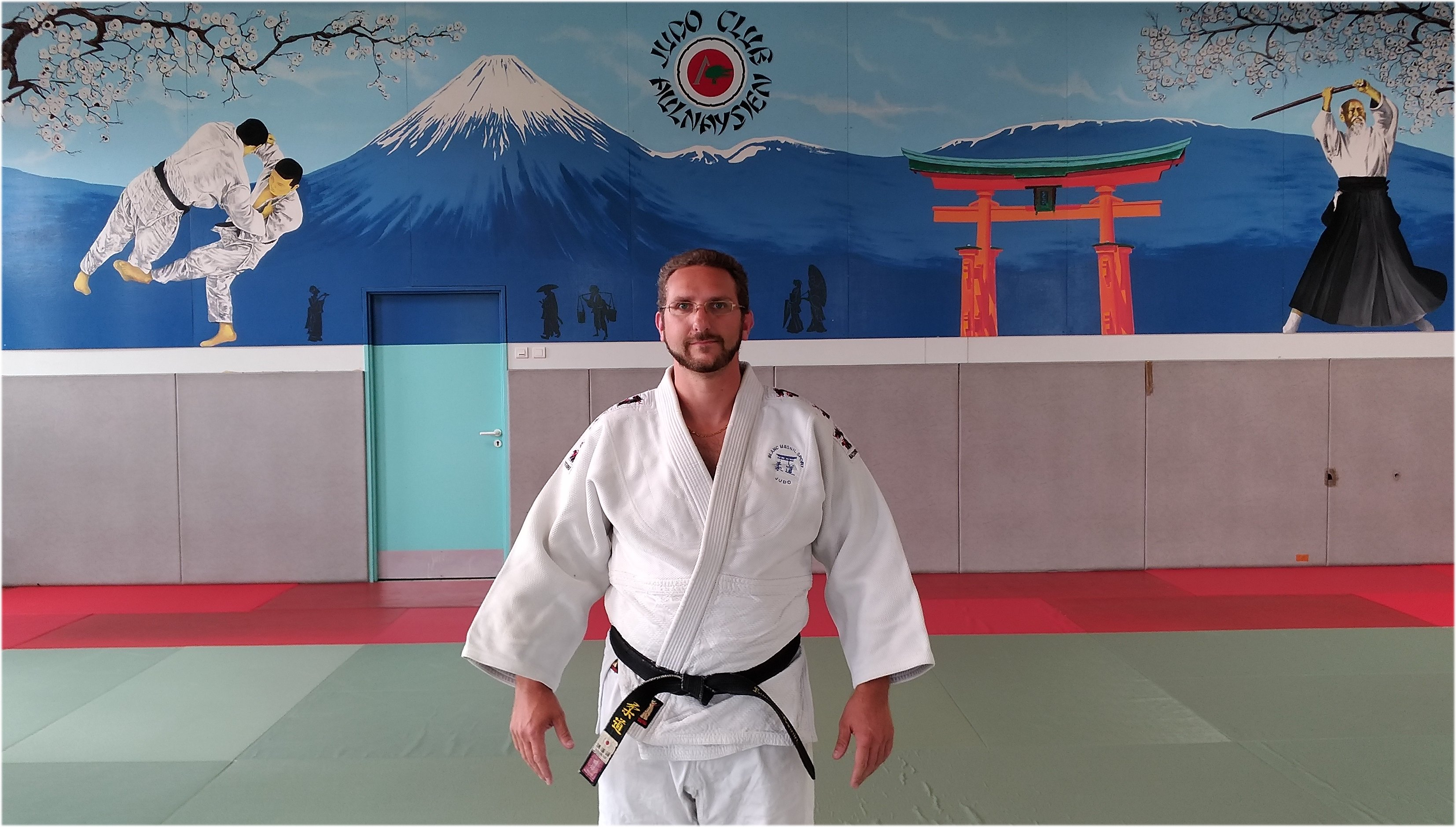 laurent, professeur de judo
